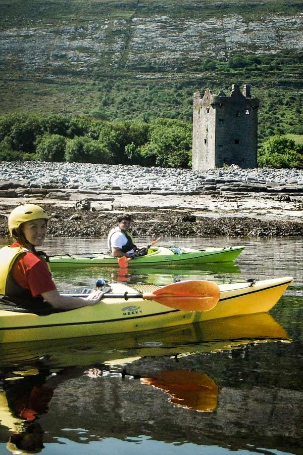 Wild-Burren-Tour—Gleninagh-Castle